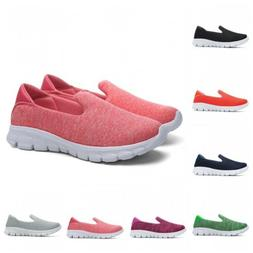 8 Colors Women Breathable Slip On Nurse Loafers Lazy Shoes C