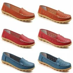 Hot Sale Women Slip On Loafer Casual Nurse Moccasin Shallow
