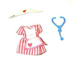 Kelly Doll Sized Outfits/Shoes Nurse Costume For Kelly Dolls