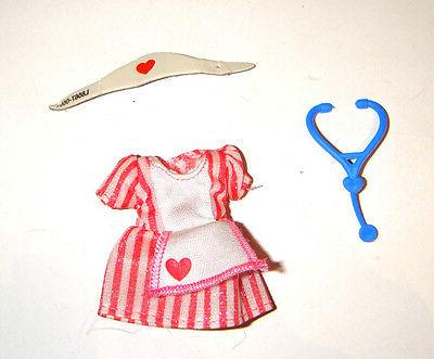 kelly doll sized outfits shoes nurse costume