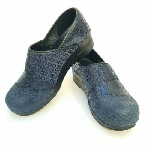 new gray suede leather annabelle clogs size
