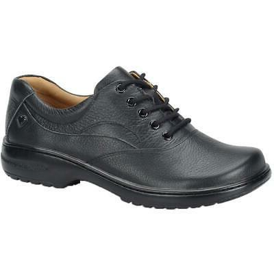 womens macie leather work lace up oxfords