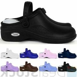 Medical Nursing Nurse Womens Comfortable Lightweight Clogs S