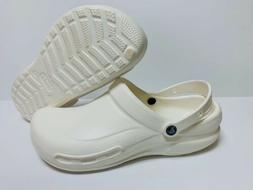 New Bistro Crocs Clog White Men's Size 13 Medical Nurse Re