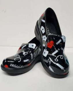 Nursing Shoes FABUL Leather Upper Nurse Passion Printed Oute