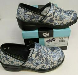 Savvy Nursing Shoes, Womens, Brandy Color: Silver Floral