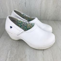 shoes bryar size 7 5m white leather