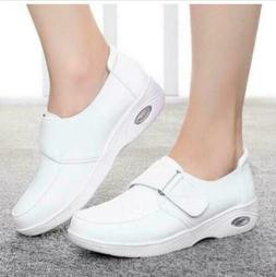 Womens Flats Leather New Hospital Footware Work Skidproof Nu